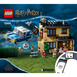 Notice / Instruction Lego Harry Potter  75968 notice-instruction-lego-harry-potter-75968 ici :