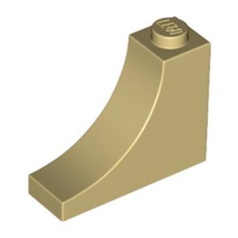 LEGO 6212038 - 1/2 ARCHE INV 1x3x2 - BEIGE lego-6212038-12-arche-inv-1x3x2-beige ici :