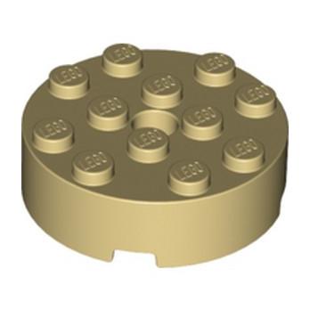 LEGO 6294592 BRIQUE RONDE 4X4 - BEIGE lego-6294592-brique-ronde-4x4-beige ici :