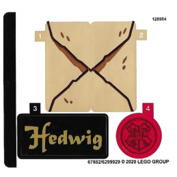 Stickers / Autocollant Lego Harry Potter 75979