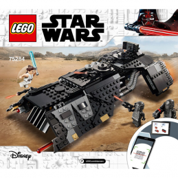Notice / Instruction Lego Star Wars 75284 notice-instruction-lego-star-wars-75284 ici :