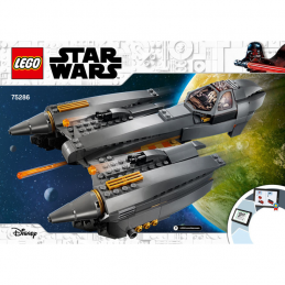 Notice / Instruction Lego Star Wars 75286 notice-instruction-lego-star-wars-75286 ici :