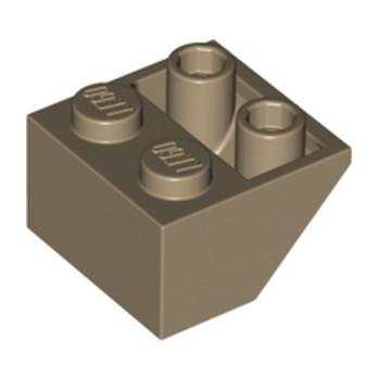LEGO 6310986 TUILE 2X2/45 INV - SAND YELLOW lego-6310986-tuile-2x245-inv-sand-yellow ici :