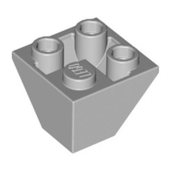 LEGO 6310976 TUILE CORN. INVERT.2X2/45° - MEDIUM STONE GREY