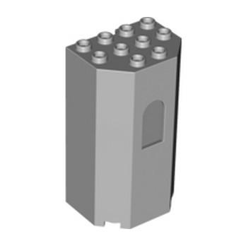 LEGO 6005319 TOUR 4X3X6 - MEDIUM STONE GREY lego-6005319-tour-4x3x6-medium-stone-grey ici :