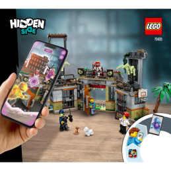 Notice / Instruction Lego Hidden Side 70435