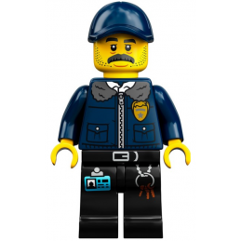 Mini Figurine LEGO® Hidden Side - Nate Lockem