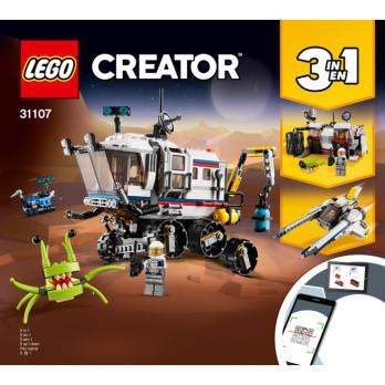 Notice / Instruction Lego Creator 3 en 1 - 31107
