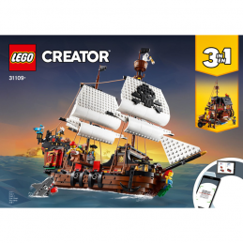 Notice / Instruction Lego Creator 3 en 1 - 31109