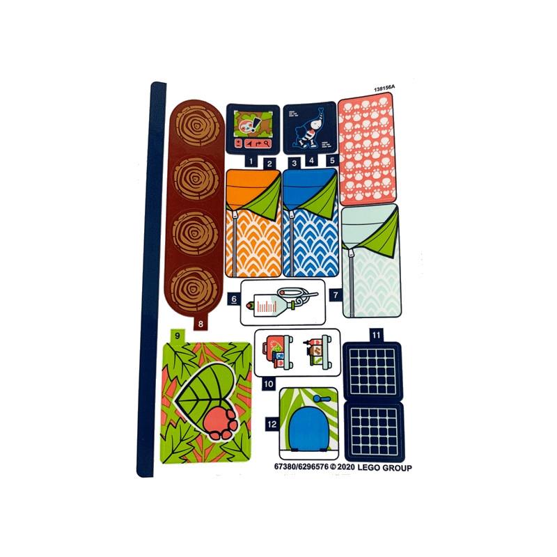 Stickers / Autocollant Lego Friends 41424