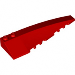 LEGO 6218836 RIGHT SHELL 3x10 - ROUGE