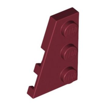 LEGO 6267490 PLATE 2X3 ANGLE GAUCHE - NEW DARK RED lego-6267490-plate-2x3-angle-gauche-new-dark-red ici :