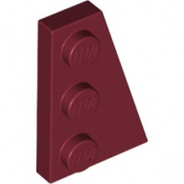 LEGO 6267492 PLATE 2X3 ANGLE DROIT - NEW DARK RED lego-6267492-plate-2x3-angle-droit-new-dark-red ici :