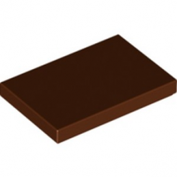 LEGO 6311441 PLATE LISSE 2X3 - REDDISH BROWN lego-6311441-plate-lisse-2x3-reddish-brown ici :