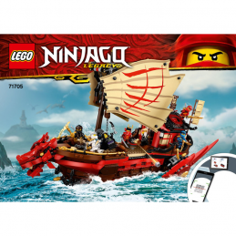 Notice / Instruction Lego Ninjago 71705 notice-instruction-lego-ninjago-71705 ici :
