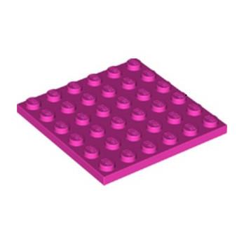 LEGO 6267536 PLATE 6X6 - ROSE lego-6267536-plate-6x6-rose ici :