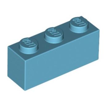 LEGO 6223734 BRIQUE 1X3 - MEDIUM AZUR