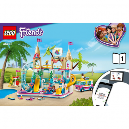 Notice / Instruction Lego Friends 41430