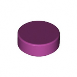 LEGO 6322816 PLATE LISSE ROND 1X1 - MAGENTA lego-6322816-plate-lisse-rond-1x1-magenta ici :