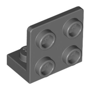 LEGO 6308045 ANGULAR PLATE 1.5 BOT. 1X2 22 - DARK STONE GREY