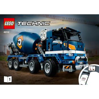 NOTICE / INSTRUCTION LEGO TECHNIC - 42112 notice-instruction-lego-technic-42112 ici :