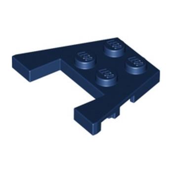 LEGO 6285477 PLATE ANGLE COUPE 3X4 -  EARTH BLUE