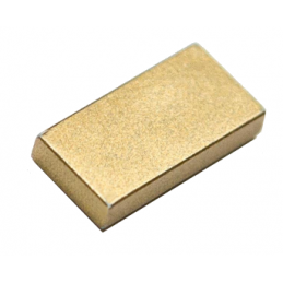 LEGO 6265247 PLATE LISSE 1X2 - GOLD INK lego-6265247-plate-lisse-1x2-gold-ink ici :