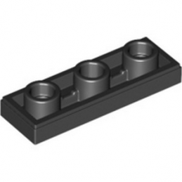 LEGO 6272184 PLATE LISSE 1X3 INV - NOIR