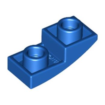 LEGO 6308097 DOME INV. 1X2X2/3 - BLEU