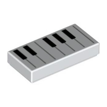 LEGO 6293665 IMPRIME 1X2 PIANO
