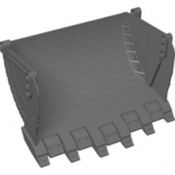 LEGO 6257338 GODET  19X12X12, W/ 4.85 HOLE - DARK STONE GREY lego-6257338-godet-19x12x12-w-485-hole-dark-stone-grey ici :