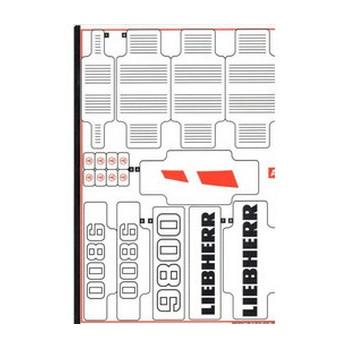 Stickers / Autocollant Lego Technic 42100