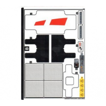 Stickers / Autocollant Lego Technic 42100-2
