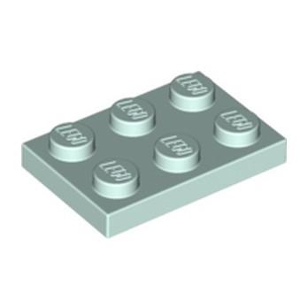 LEGO 6192108 PLATE 2X3 - AQUA lego-6192108-plate-2x3-aqua ici :