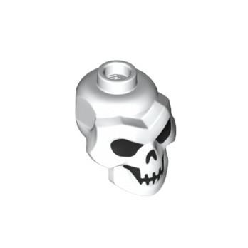LEGO  6309089 TÊTE SQUELETTE - BLANC lego-6309089-tete-squelette-blanc ici :