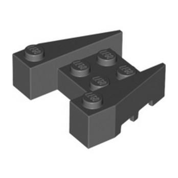 LEGO 6314784 BRIQUE 4X4/18° - DARK STONE GREY lego-6314784-brique-4x418-dark-stone-grey ici :