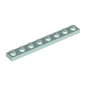 LEGO 6310373 PLATE 1X8 - AQUA lego-6310373-plate-1x8-aqua ici :