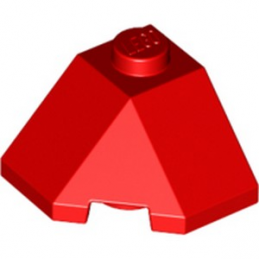 LEGO 6301899 ROOF TILE 2X2X1 45° - ROUGE lego-6301899-roof-tile-2x2x1-45-rouge ici :