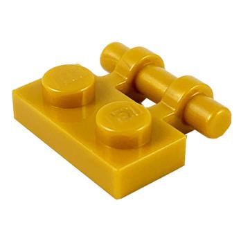 LEGO 6279731 PLATE 1X2 W. STICK - WARM GOLD lego-6279731-plate-1x2-w-stick-warm-gold ici :