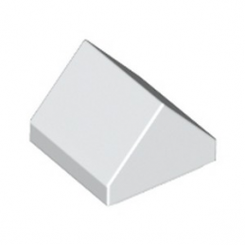 LEGO 6286834 TUILE 1X1 45° - BLANC