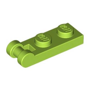 LEGO 6133859 PLATE 1X2 W/SHAFT Ø3.2 - BRIGHT YELLOWISH GREEN lego-6133859-plate-1x2-wshaft-o32-bright-yellowish-green ici :