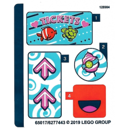 Stickers / Autocollant Lego Friends - 41337 stickers-autocollant-lego-friends-41337 ici :
