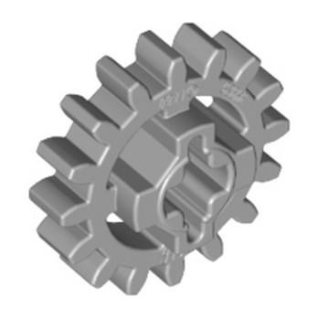 LEGO 4640536 GEAR WHEEL Z16 Ø17 - MEDIUM STONE GREY