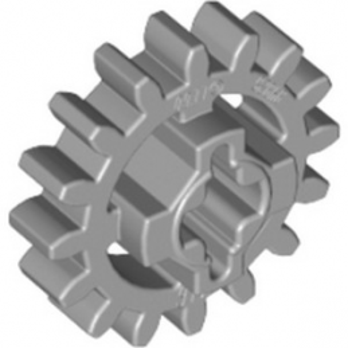 LEGO 4640536 ROUE ENGRENAGE  Z16 - MEDIUM STONE GREY