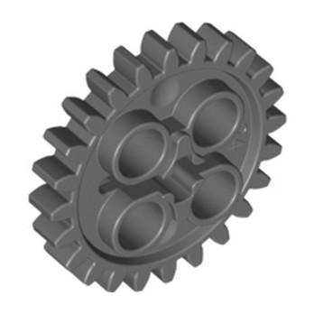 LEGO 4514558 ROUE ENGRENAGE  Z24 - DARK STONE GREY lego-6133119-roue-engrenage-z24-dark-stone-grey ici :