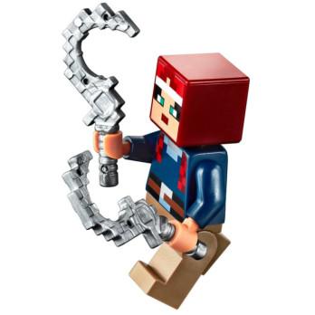 Mini Figurine LEGO® Minecraft - Dungeons - Valorie mini-figurine-lego-minecraft-dungeons-valorie ici :