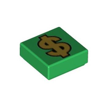 LEGO 6310223 IMPRIME DOLLAR 1X1 - VERT