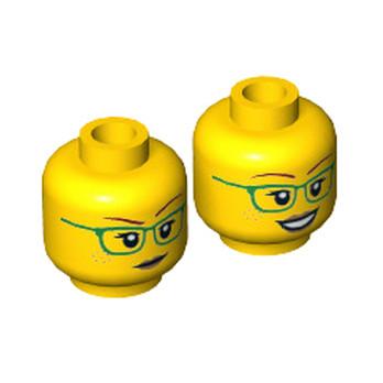 LEGO  6271746 TÊTE FEMME (2 FACES) lego-6271746-tete-femme-2-faces ici :