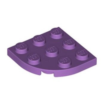 LEGO 6265057 PLATE 3X3, 1/4 CIRCLE - MEDIUM LAVENDER lego-6265057-plate-3x3-14-circle-medium-lavender ici :