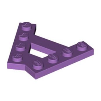 LEGO 6074919 - PLATE (A) 4M 45° - MEDIUM LAVENDER